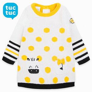tuctuc ベビー キッズ服 子供服 ニット ワンピース 可愛い かわいい おしゃれ 女の子 インポート 海外 スペイン
