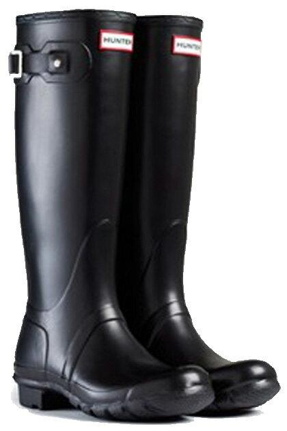 <特別価格!>HUNTER【ハンター】WOMENS ORIGINAL TALL BLACKオリジナルトール・ブラックレインブーツ ラバーブーツ 長靴