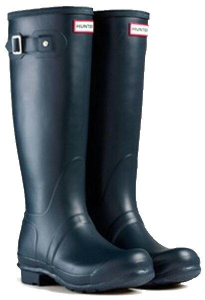 <特別価格!>HUNTER【ハンター】WOMENS ORIGINALTALL NAVYオリジナルトール・ネイビーレインブーツ ラバーブーツ 長靴