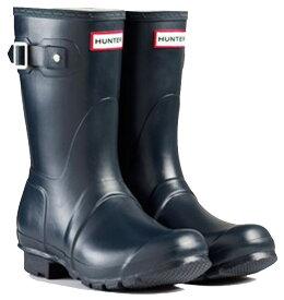 <特別価格!>HUNTER【ハンター】WOMENS ORIGINAL SHORT NAVYオリジナルショート・ネイビーレインブーツ ラバーブーツ 長靴
