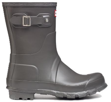 <特別価格!>HUNTER【ハンター】MENS ORIGINAL SHORT SLATEオリジナルショート・スレートレインブーツ ラバーブーツ 長靴
