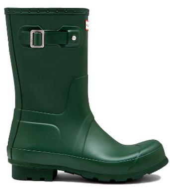 <特別価格!>HUNTER【ハンター】MENS ORIGINAL SHORT HUNTER GREENオリジナルショート・ハンターグリーンレインブーツ ラバーブーツ 長靴
