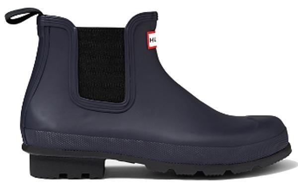 <特別価格!>HUNTER【ハンター】MENS ORIGINAL DARK SOLE CHELSEA ONE TABオリジナルダークソール・チェルシーワンタブレインブーツ ラバーブーツ 長靴