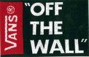 "VANS ""OFF THE WALL""BLACK"