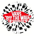 VANS OFF THE WALL CIRCLE STICKER!