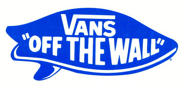 The Latest VANS SURF OFF THE WALL STICKER Arrival! Part 95