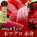 大間マグロ 赤身 200g |青森県大間産 大間のまぐろ本マグロ刺身【楽ギフ_のし】