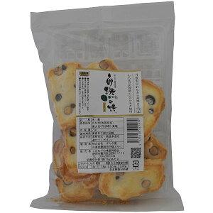 自然の味そのまんま 丹波黒豆おかき(素焼き)[75g]