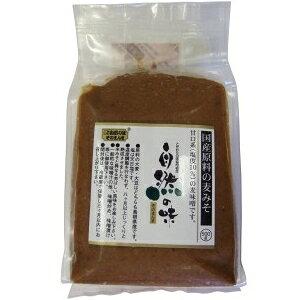 自然の味そのまんま 国産原料の麦みそ[500g]