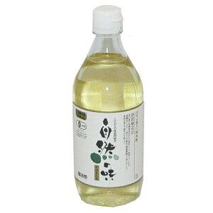 自然の味そのまんま 国産 有機米の純米酢[500ml]