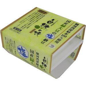 自然の味そのまんま 駿河湾深層水100%使用 国産緑大豆の塩納豆[45g×2]