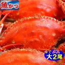 11月発送ゆで ワタリガニ メス大サイズ2尾 送料無料わたりがに、渡り蟹、ガザミ