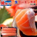 刺身 柵サーモン 刺身脂が乗った未冷凍刺身用 生サーモン刺身、寿司、鮭、さけ、サケ約700gお刺身6人前送料無料生のアトランティックサ…