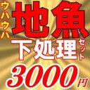 魚かつの下処理鮮魚セット3000円分