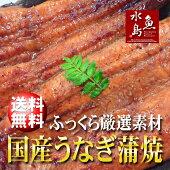 【送料無料】国産鰻うなぎ蒲焼ふっくら厳選素材約30cm特々大約200g×5尾メガ盛り1kg