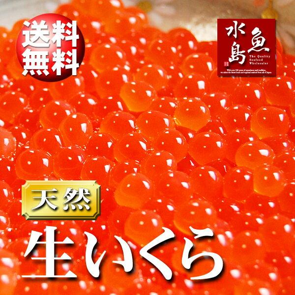 【送料無料】北海道〜岩手県産 生いくら 季節限定「とろりやわらか 生イクラ」 1kg