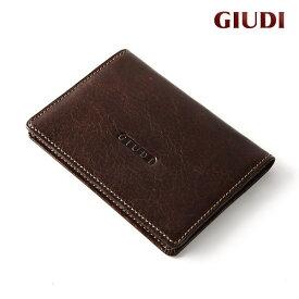 名刺入れ メンズ 本革 イタリア製 イタリアンレザー 男性 誕生日 プレゼント ギフト バレンタインデー 父の日 小さい 財布 ブラック ブラウン キャメル 黒 茶 ジュディ GIUDI