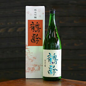青木酒造 鶴齢 純米吟醸 1.8L