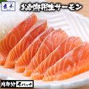サーモン 鮭 お刺身用 生食用 アトランティックサーモン ノルウェー産 お取り寄せ 【注意】北海道、沖縄は追加送料を9…