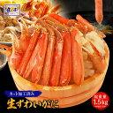 【早割クーポンで9960円→7999円】カット生ズワイガニ 総重量1.5kg かに カニ 蟹 ずわいがに かに ハーフポーション …