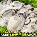 【早割6399円終了後7500円】かき カキ 牡蠣 大粒 広島産 剥きかき 徳用3kg(1kg×3パック)(解凍後約2.6kg/100個前後…
