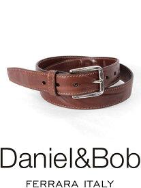 【国内正規品】 Daniel&Bob DBB002 44BROWN レザーベルト ダニエルアンドボブ ブラウン RODI ローディー 本革