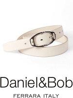 【国内正規品】Daniel&BobDBB00244BROWNレザーベルトダニエルアンドボブブラウンRODIローディー