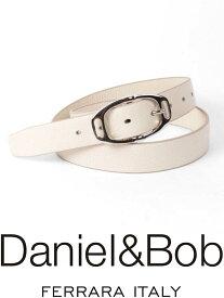 【国内正規品】 Daniel&Bob DBB004-11OFFWHITE レザーベルト ダニエルアンドボブ オフホワイト ALCE アルチェ