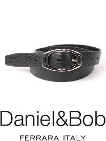 【国内正規品】 Daniel&Bob dbb004-99NERO レザーベルト ダニエルアンドボブ ブラック ALCE アルチェ