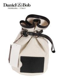 【国内正規品】 Daniel&Bob ダニエルアンドボブ バケットバッグ 巾着型バッグ キャンバス生地 U482.14 オフホワイト