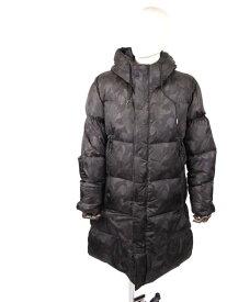 【国内正規品】DUNO デュノ カモフラ ダウンコート スナップボタン パッカブル 92097HYPEC BLACK ブラック
