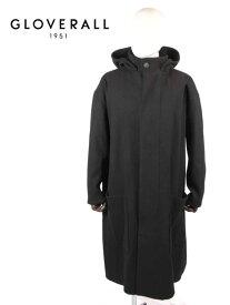 【国内正規品】GLOVERALL グローバーオール STUDIO NICHOLSON コラボ フーデッドコート MS5355EM GRAM BLACK ブラック