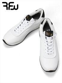 【国内正規品】RFW アールエフダブリュー レザースニーカー ホワイト KOPPE LO LEATHER R-1837012 ビブラムソール 日本製