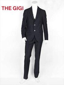 【国内正規品】 THE GIGI ザ・ジジ セットアップスーツ ブラック 薄手 リネンコットン GG181UADEGAS2ALPH213