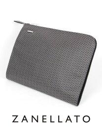 【国内正規品】ZANELLATO ザネラート NENO L BLANDINE クラッチバッグ Lサイズ A4 ブラック