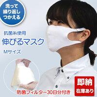 洗えるマスク(防菌フィルタ30日分付き)