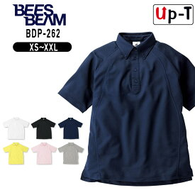 ボタンダウンポロシャツ BDP-262 BEES BEAM アパレル