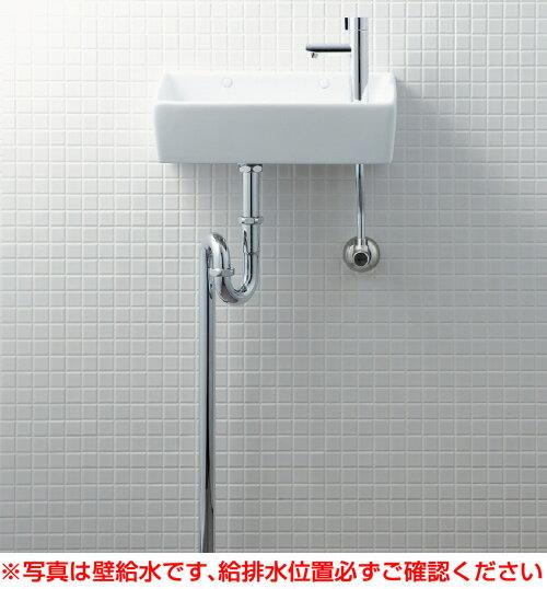 INAX イナックス LIXIL リクシル 【YL-A35HB】手洗器(角形)床給水・床排水(Sトラップ)アクアセラミック仕様[新品]【RCP】