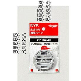 KVK VU管目皿 【PZ182-75】排水栓目皿【PZ18275】[新品]【RCP】【NP後払いOK】
