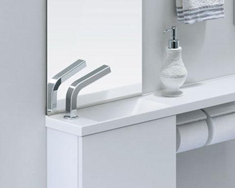 INAX LIXIL・リクシル 洗面器・キャパシア手洗器用自動水栓【AM-180UCN(100V)-SET】[蛇口][新品]【RCP】