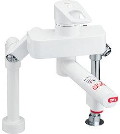 INAX[イナックス]・LIXIL[リクシル] 【SF-WCH350】 電気温水器専用水栓金具 熱湯用水栓 熱湯口付シングルレバー混合水栓(台付ツーホールタイプ) [新品]【RCP】