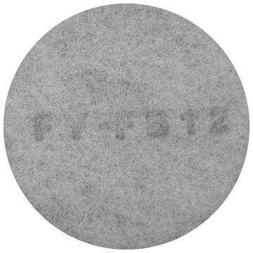 【ゆうパケット対応可】 パナソニック 換気扇 換気扇部材 【FY-FB12】【FYFB12】交換用フィルター[新品]【RCP】