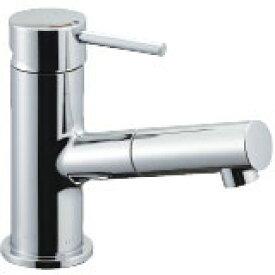 LIXIL リクシル 【LF-E345SYC】 シリーズ名: eモダン 品名: 吐水口引出式シングルレバー混合水栓(泡沫式)[新品]【RCP】