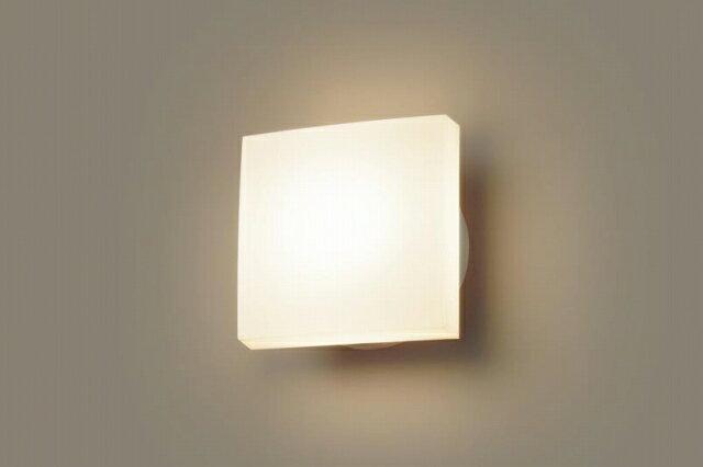 パナソニック 照明 壁直付型 LED(電球色) ポーチライト 60形電球1灯相当・拡散タイプ・密閉型 防雨型 【LGW80207LE1】[新品]【RCP】