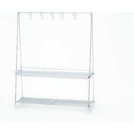 池永鉄工 キッチン用品 コンロサイドラック フック5個付 IK-70