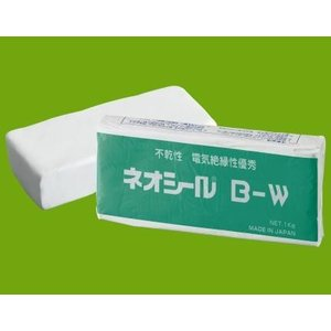日東化成工業 ネオシール 隙間シール用 防水・電気絶縁等 B-W ホワイト色 1Kg
