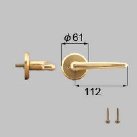 LIXIL リクシル トステム 浴室ドアEX-A把手(左)【商品コード:J3N1109 内容物:本体(内外)×1、取付ネジ×1、取説 ゴールド 】[新品]【RCP】