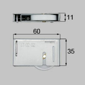 LIXIL リクシル トステム 平戸車【商品コード:MDP692A 内容物:本体×1、取付ネジセット×1 色無 】[新品]【RCP】