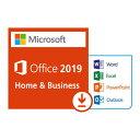 【スマホエントリーで当店全品10倍ポイント12日10:00から】Microsoft Office Home & Business 2019 正規版 永久ライセンス カード付 「…