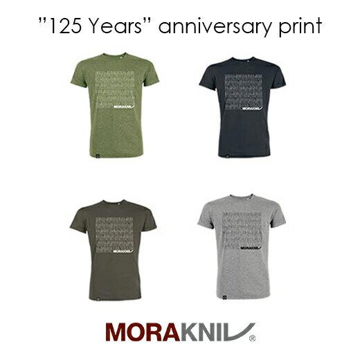 Morakniv T-shirtモーラナイフ 125周年記念 Tシャツ【正規品】
